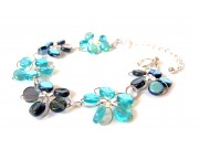 in bloom bracelet - turquoise, montana