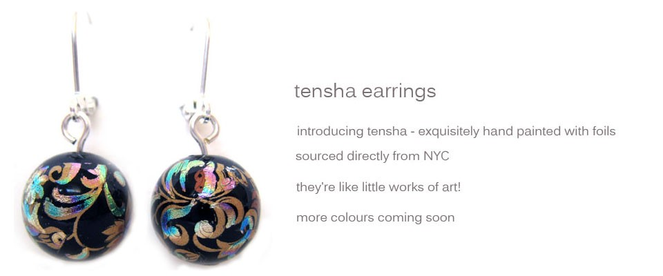tensha earrings