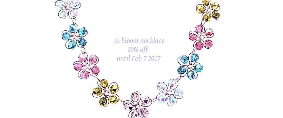 in bloom choker
