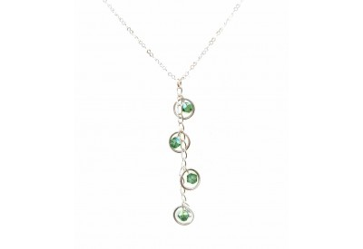 holly necklace - erinte swarovski crystal