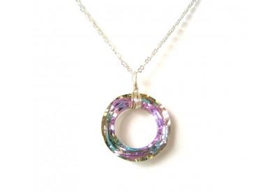 c150be9f3 swarovski cosmic ring pendant