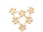 in bloom cluster - ivory pearl